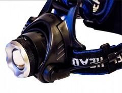 мощный налобный аккумуляторный фонарь Q19 купить