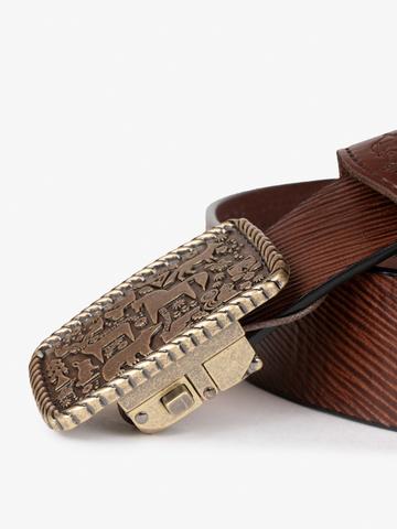 "Belt ""Irkutsk"" with automatic buckle"