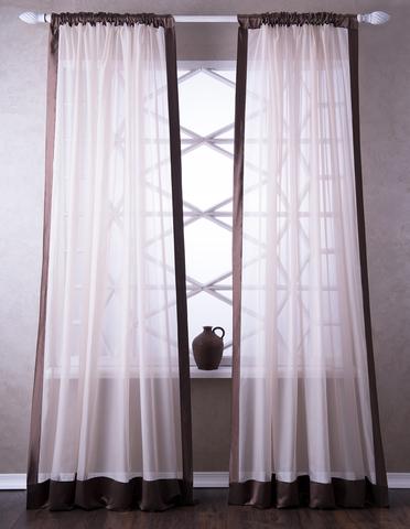 Готовая штора Элио бежевый