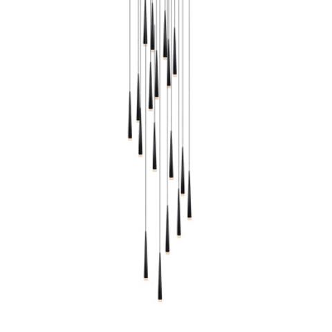 Подвесной светильник копия Slim by Vibia (19 плафонов)