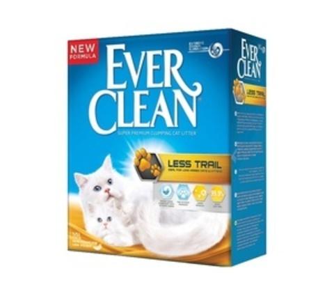 Ever Clean Less Track - для длинношерстных пород,крупные гранулы, желтая полоса