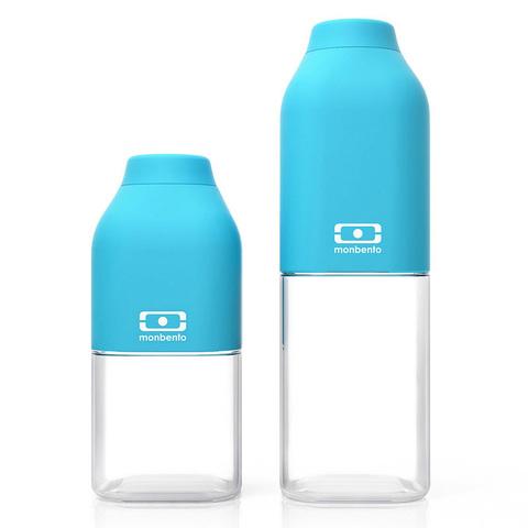 Бутылка Monbento Positive (0,33 литра), голубая