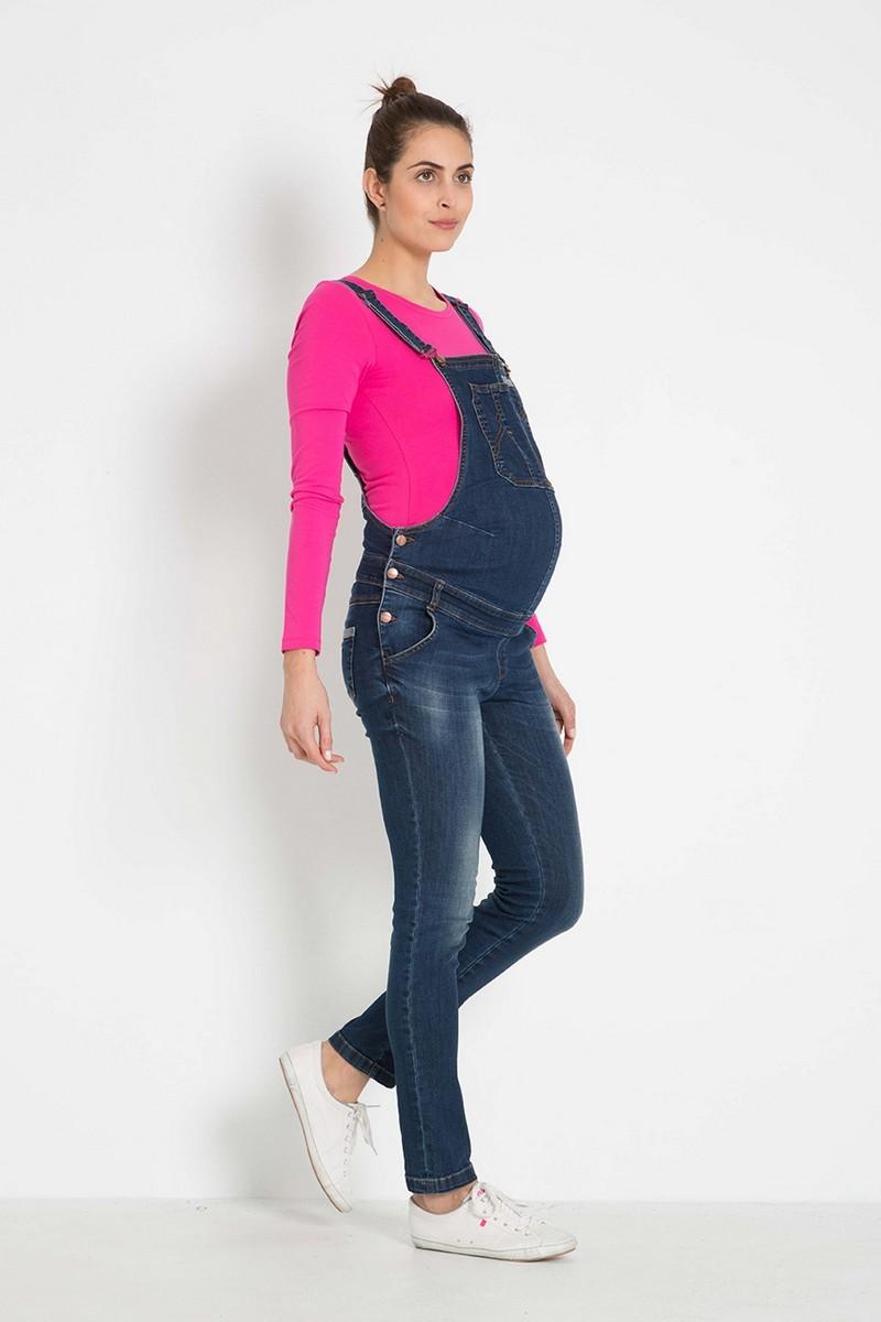 Комбинезон для беременных 07887 синий