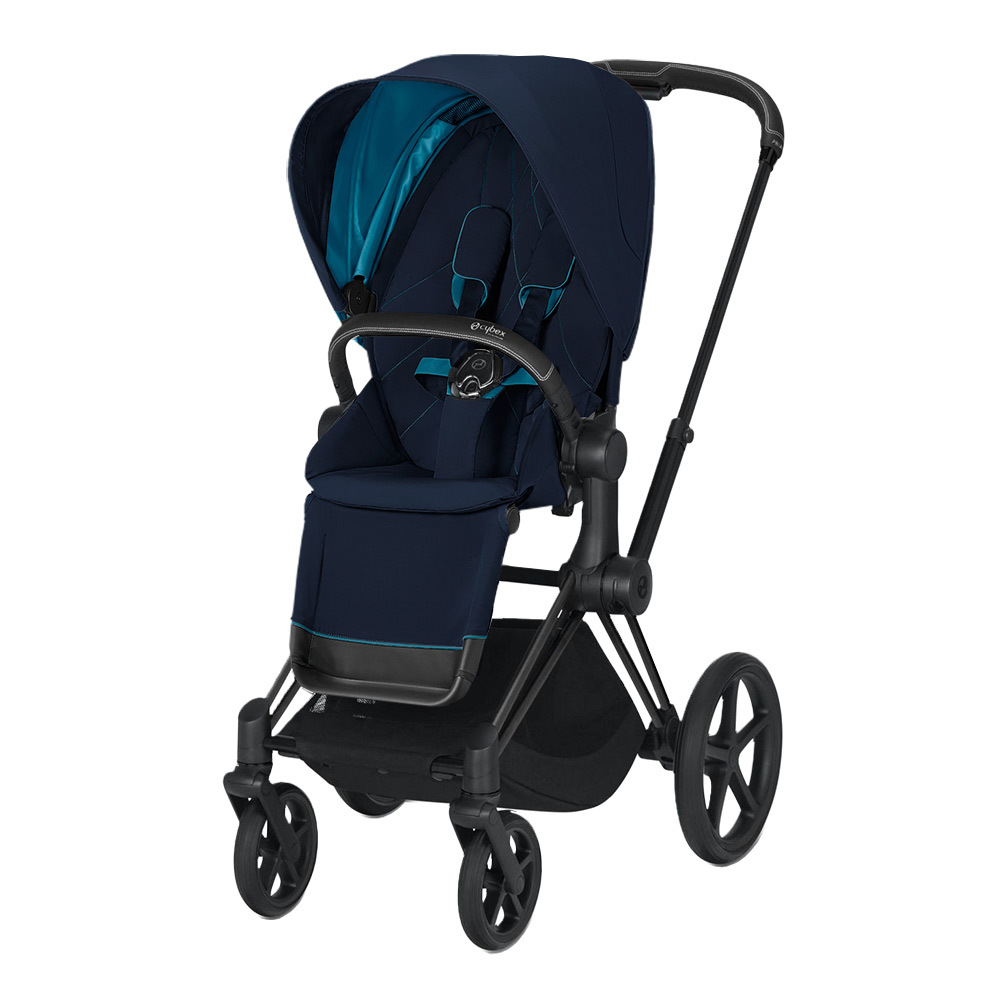 Прогулочная коляска Cybex Priam III 2020 Прогулочная коляска Cybex Priam III Nautical Blue Matt Black cybex-priam-pushchair_nautical-blue_matte-black.jpg
