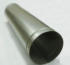 Труба прямошовная d 80 (1м) оцинкованная сталь