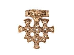 Крест викингов кулон