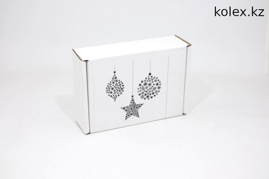 Новогодняя подарочная коробка купить