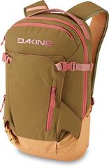 Рюкзак женский Dakine Women'S Heli Pack 12L Dark Olive/Caramel