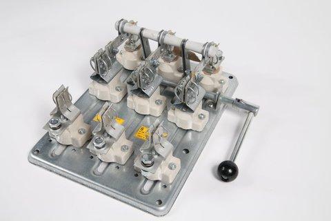 РПБ-1/1П У3 TDM (100А,  правый привод, без плавких вставок)