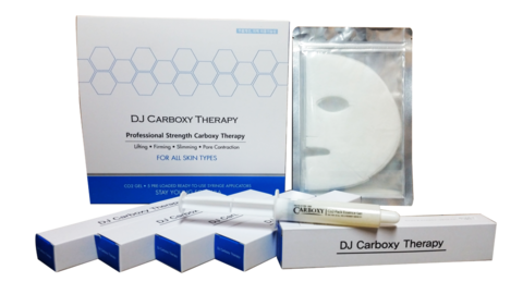Карбокситерапия набор для лица Carboxy Therapy СО2 Gel Mask