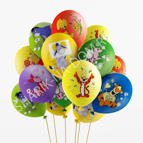"""Шары на годик мальчику Воздушные шары """"Винни Пух и друзья"""" Шары_Винни_Пух.jpg"""
