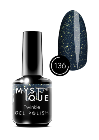 Mystique Гель-лак #136 «Twinkle» 15 мл