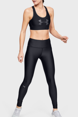Женские черные тайтсы UA HG Armour Hi-Rise Legging Under Armour