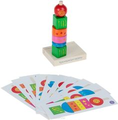 Пирамидка Геометрия, Краснокамская игрушка