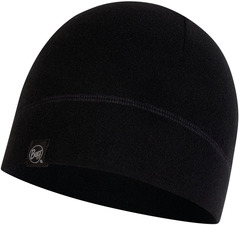 Флисовая шапка Buff Hat Polar Solid Black