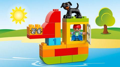 LEGO Duplo: Механик 10572 — All-in-One-Box-of-Fun — Лего Дупло