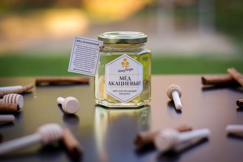 Мед натуральный акациевый HoneyForYou, 250 грамм