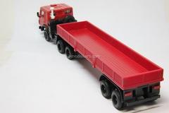 KAMAZ-5410 with semitrailer ODAZ-9370 red Elecon 1:43
