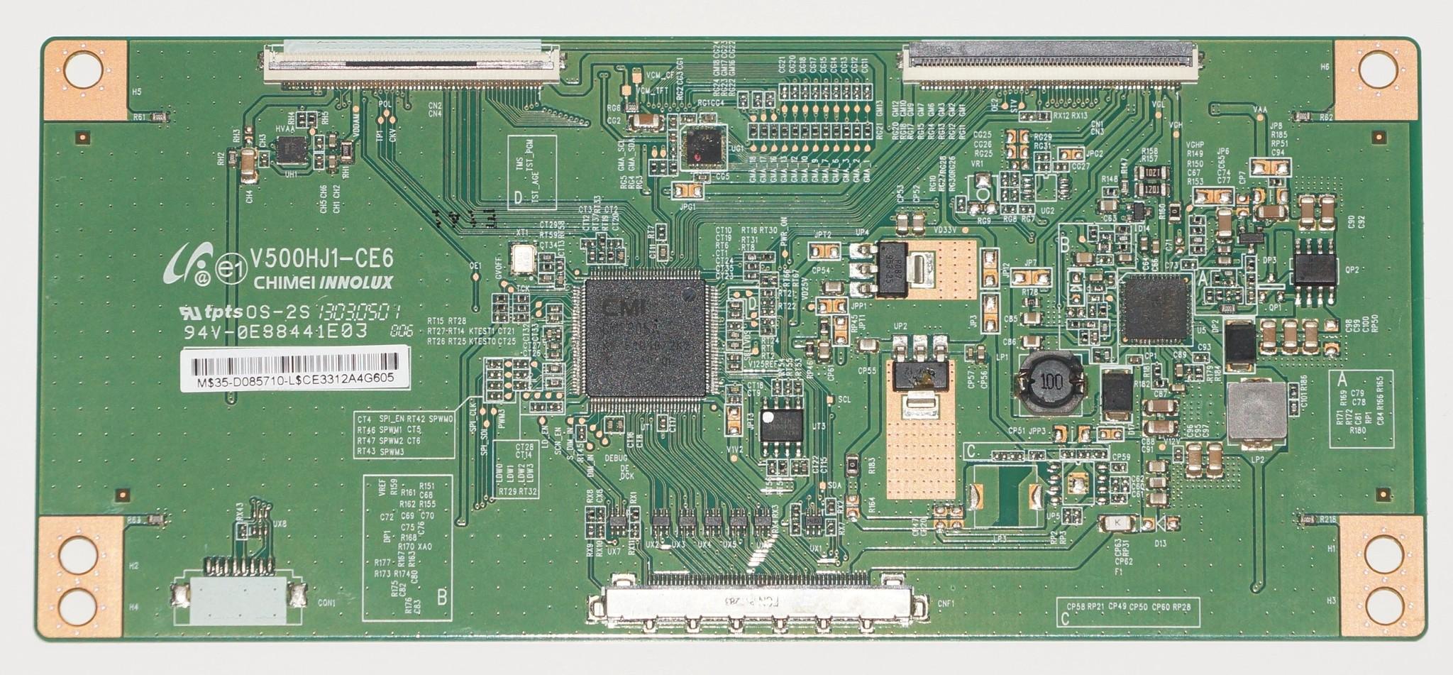 V500HJ1-CE6 t-con телевизора Philips 50