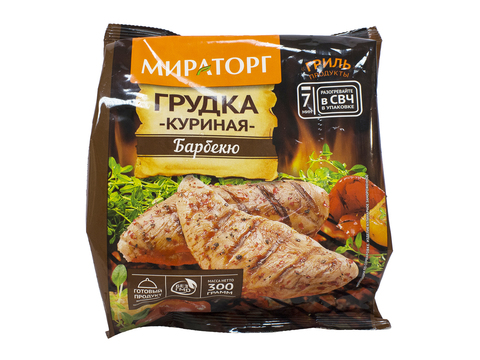 """Грудка куриная """"Мираторг"""" Барбекю 300 г"""
