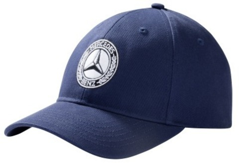 Бейсболка Mercedes-Benz Men's Cap Navy Blue