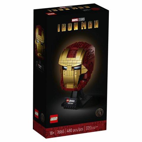 LEGO Super Heroes: Шлем железного человека 76165 — Iron Man — Лего Супергерои Марвел