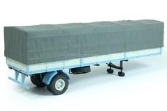 semitrailer MAZ-9380-2 with awning blue-gray 1:43 Nash Avtoprom