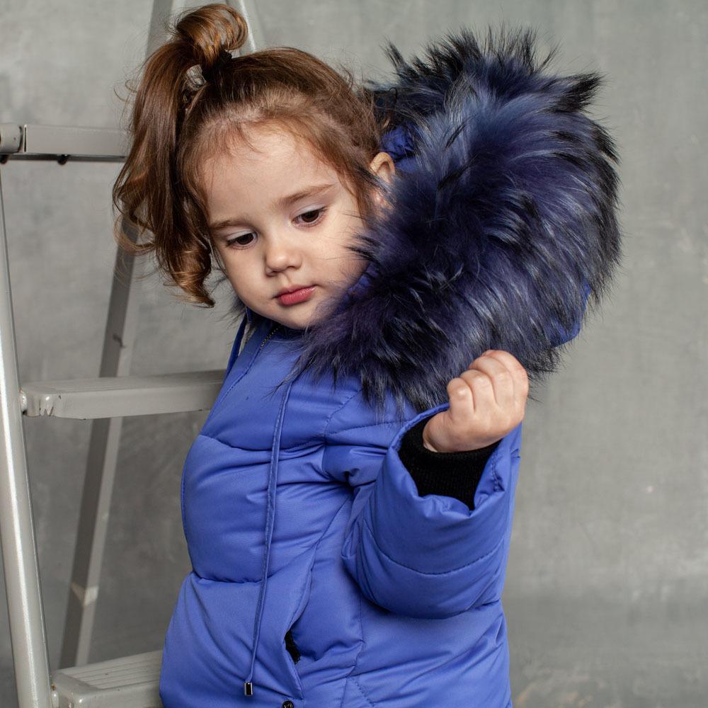 Детский зимний костюм фиолетового цвета из водоотталкивающей плащевки