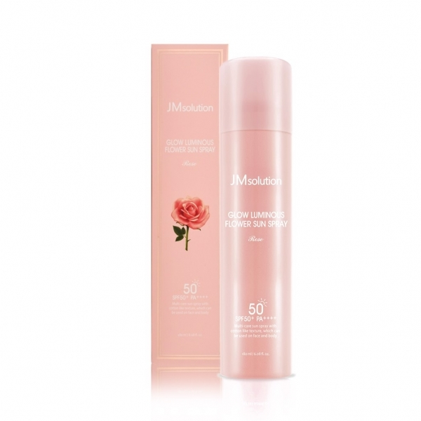 Спрей солнцезащитный JMSolution Glow Luminous Flower Sun Spray SPF50 180мл