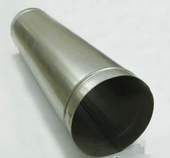 Труба прямошовная D 100 (1м) оцинкованная сталь