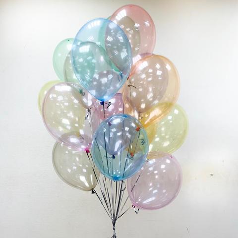 Воздушные шары Кристалл ассорти