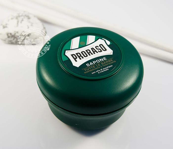 RAZ400114 Мыло для бритья «Proraso» с эвкалиптом и ментолом (150 мл) фото 03