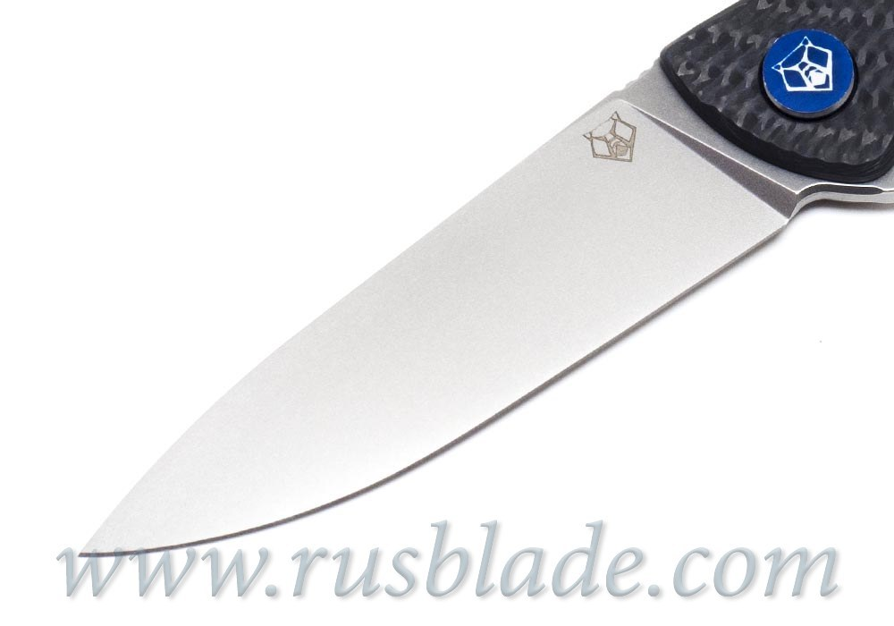 Shirogorov HatiOn Lite M390 Blue CF MRBS