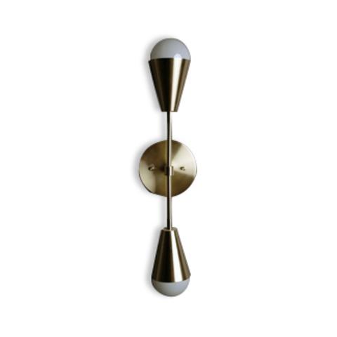 Настенный светильник копия Triad Dyad by Apparatus (золотой)
