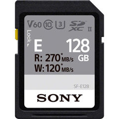 Карта памяти Sony 128GB SF-E Series UHS-II SDXC 270 / 120