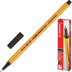 Линер Stabilo Point 88/46 черный (толщина линии 0.4 мм)