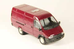 GAZ-2705 Gazelle van early facing red Agat Mossar Tantal 1:43