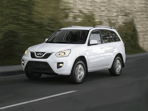 Чехлы на Chery Tiggo 2012–2017 г.в.