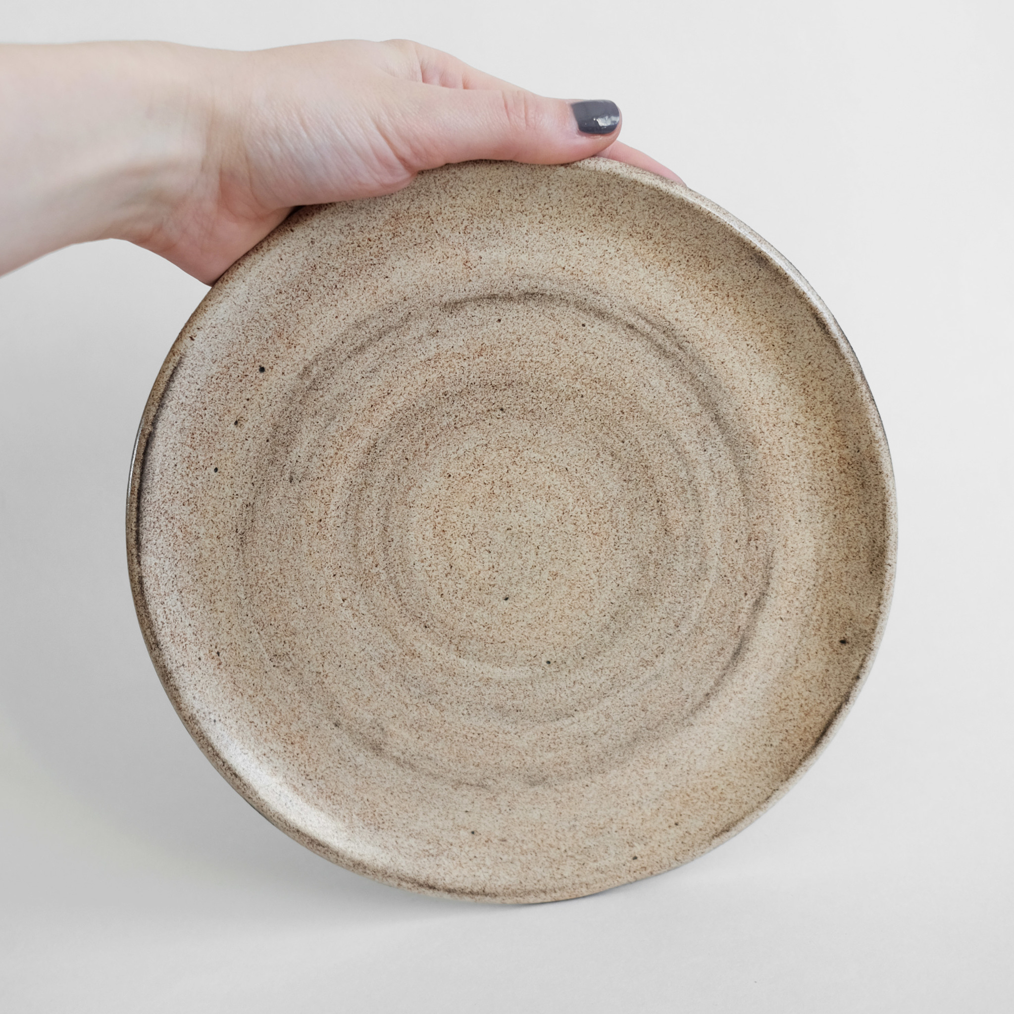 тарелка ручной работы