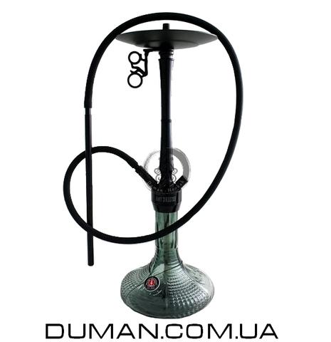 Кальян AMY Deluxe 068.01 Alu Luna PSMBK-BK Black Mate