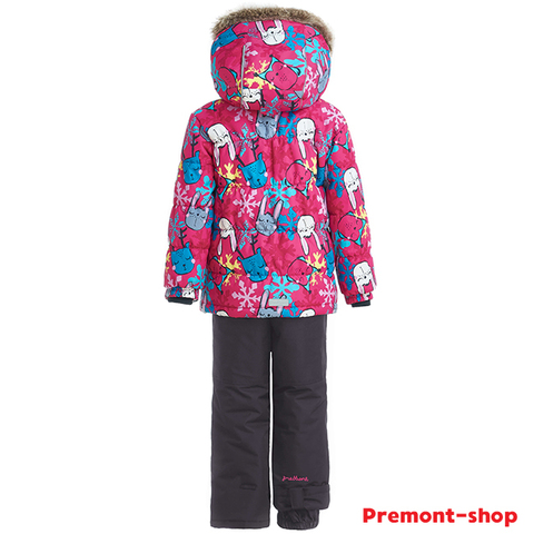Зимний комплект Premont Лапочки-зайчики WP91251 PINK