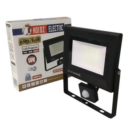 Светодиодный прожектор Horoz Electric - PARS/S - 50 6400K Черный.