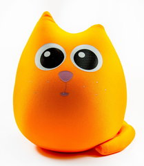 Подушка-игрушка антистресс «Кот Огонь» 1