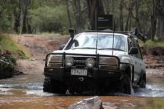 Бампер силовой Black Commercial Toyota Landcruiser 80