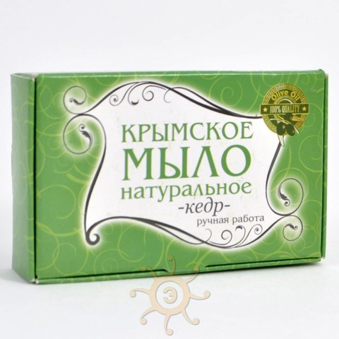 Мыло натуральное Кедровое Крымское, 85г