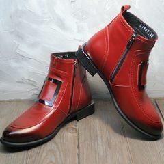 Женские ботинки демисезонные Evromoda 1481547 S.A.-Red