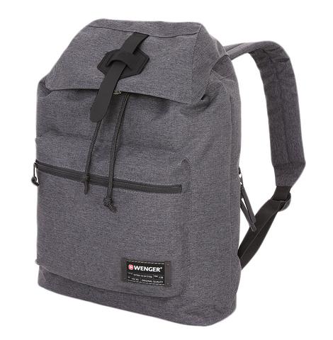 Рюкзак WENGER, цвет сёрый, отделение для ноутбука 13