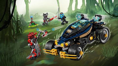 LEGO Ninjago: Самурай VXL 70625 — Samurai VXL — Лего Ниндзяго