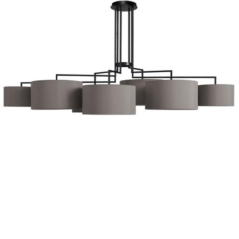Потолочный светильник копия Noon 7 by Zeitraum (серый)