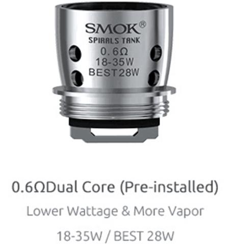 Испаритель SMOK SPIRAL 0.6ohm Dual Core